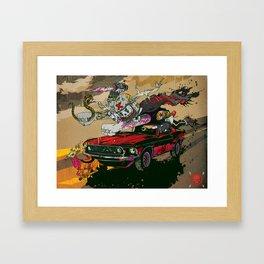 Psilopsychonaut Framed Art Print