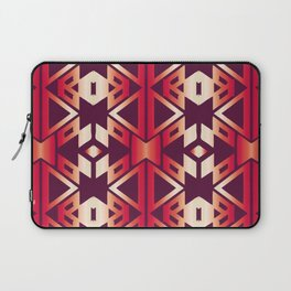 burgundy edge Laptop Sleeve