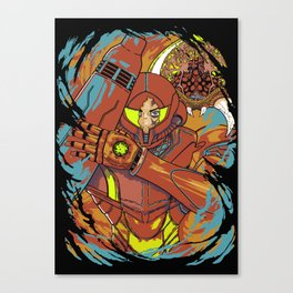 The Huntress. Canvas Print
