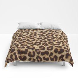 Leopard Print Comforters