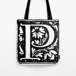 Monogram P Tote Bag