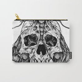 Moth Skull Carry-All Pouch