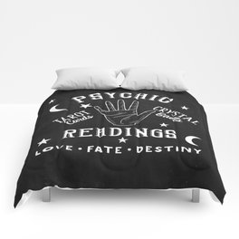 Psychic Readings Fortune Teller Art Comforters