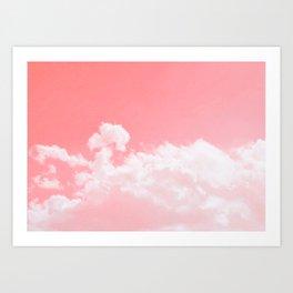 soft sky Art Print