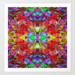 Soft echoes Art Print