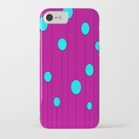 balloons iPhone & iPod Cases featuring Balloons  by JuniqueStudio