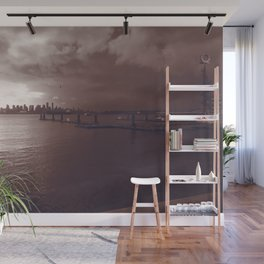 Downtown Vancouver cityscape and skyline Wall Mural