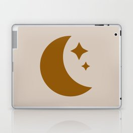 Moon & Stars - Desert Orange Laptop & iPad Skin