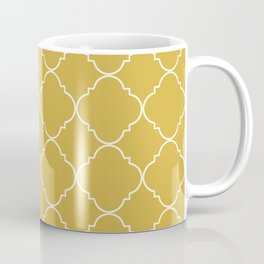Yellow Moroccan Coffee Mug