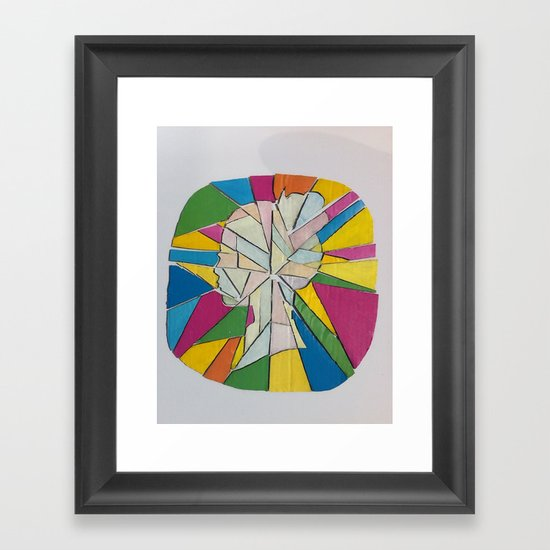 Fragments 2 Framed Art Print