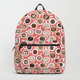 Gimme Coffee—Coffee Your Way | Coral Backpack