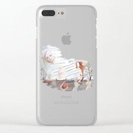 Spieglein, Spieglein an der Wand Clear iPhone Case