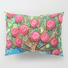 Pomegranate Tree Pillow Sham