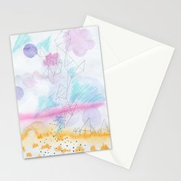 Prairie house Stationery Cards