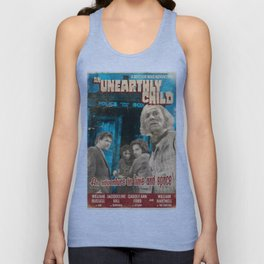 """Doctor Who """"An Unearthly Child"""" Retro Vintage Movie Poster Unisex Tank Top"""