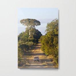surfEXPLORE Mozambique Metal Print