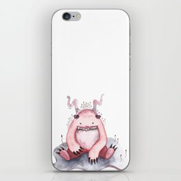 Pink Monster iPhone Skin