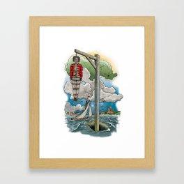 Captain Kiddless Variant Framed Art Print