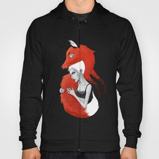 Girl and a Fox Hoody