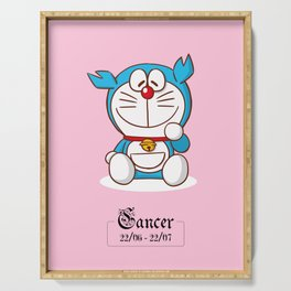 Doraemon Zodiac - Cancer Serving Tray