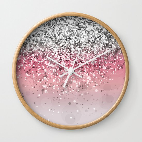 Spark Variations VII Wall Clock