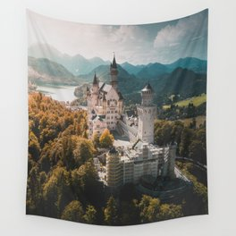 Magical Castle Wall Tapestry