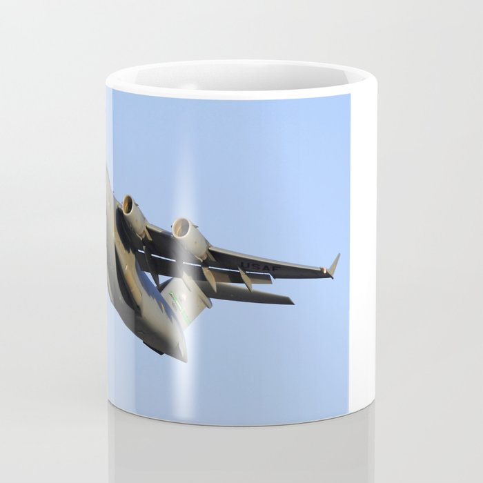 C-17 Globemaster Aviation USAF Take Off Coffee Mug