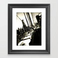 WHITEOUT : Jumper Framed Art Print