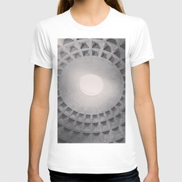 The Pantheon dome, architectural photography, Michael Kenna style, Rome photo T-shirt