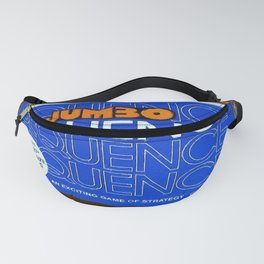 Sequence Board Game Painting Fanny Pack