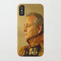 tour de france iPhone & iPod Cases featuring Bill Murray - replaceface by replaceface