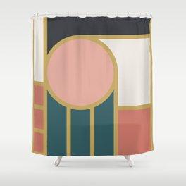 Maximalist Geometric 04 Shower Curtain