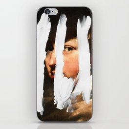 Untitled (Finger Paint 2) iPhone Skin
