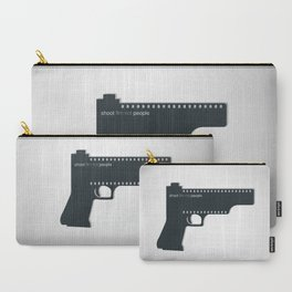 Shoot film not people Carry-All Pouch