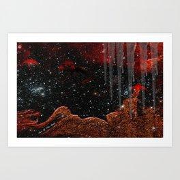 THE ICE PLANET Art Print
