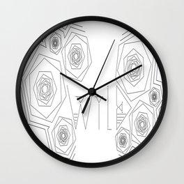 W I L D  Wall Clock