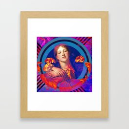 Hot Blooded Framed Art Print