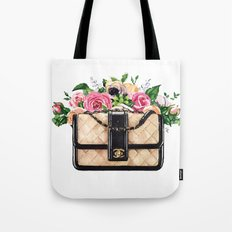 Flowers purse Tote Bag