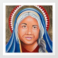 Our Lady of the Ages Art Print