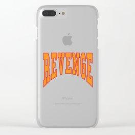 Revenge Drake Clear iPhone Case