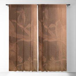 Hummingbird Heaven Blackout Curtain