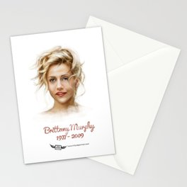 Brittany Murphy Stationery Cards