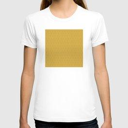 Yellow Gold Très Petit Geometric Pattern T-shirt