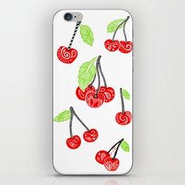 Cherries series iPhone Skin