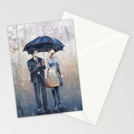 Their Umbrella Stationery Cards