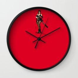 METAL GEAR SOLID V QUIET Wall Clock