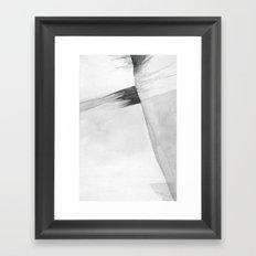 Fine Up Geology  Framed Art Print