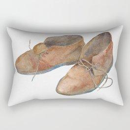 Old Desert Boots Rectangular Pillow