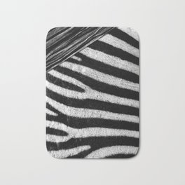 Zebra Bath Mat