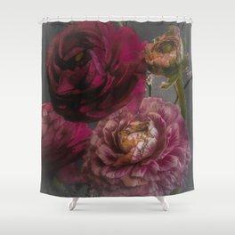 Ranunculus and Romance Shower Curtain